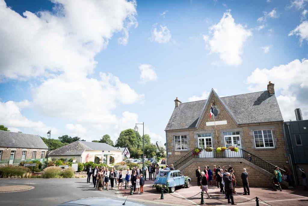 normandie mariage cérémonie civile mairie hudimesnil