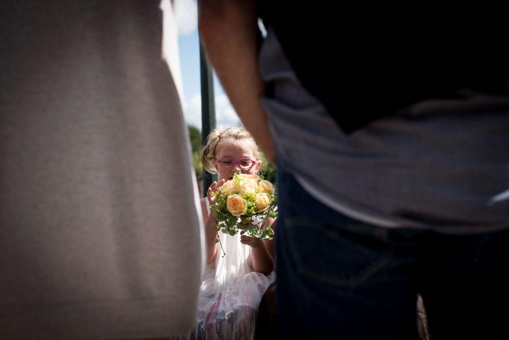 demoiselle d'honneur pour un mariage civil en normandie à hudimesnil