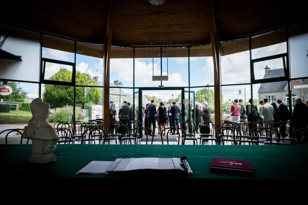 salle des mariages à hudimesnil en normandie