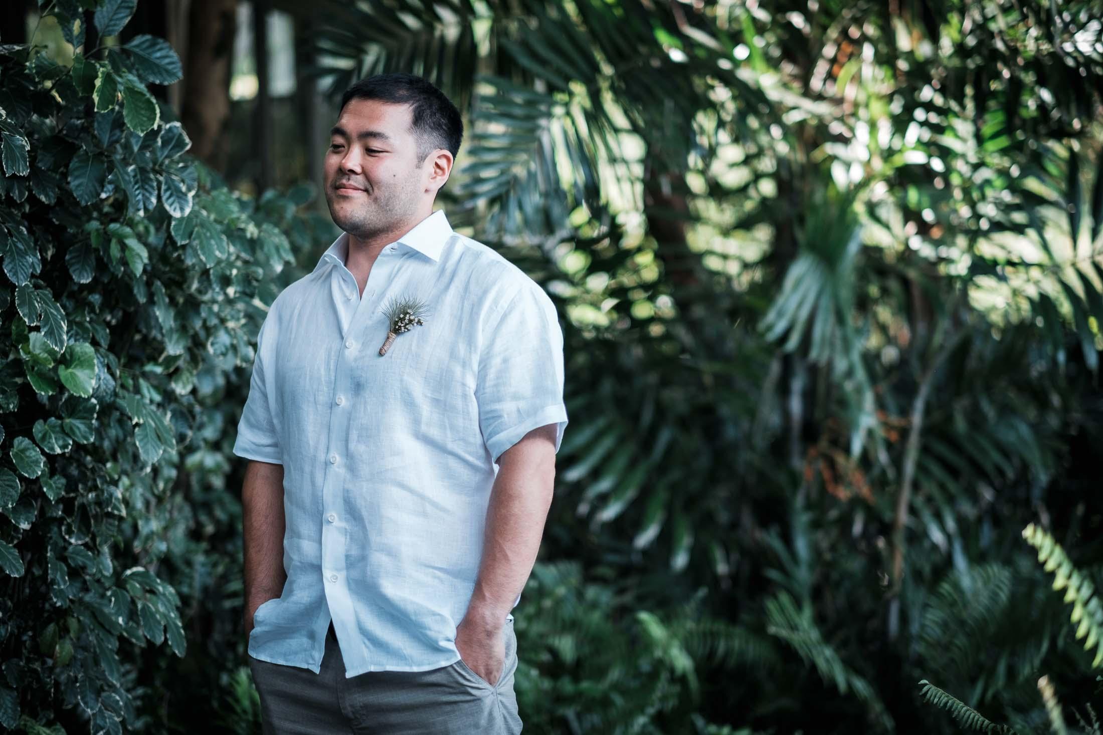 Photographe Mariage Thailande en attendant sa femme