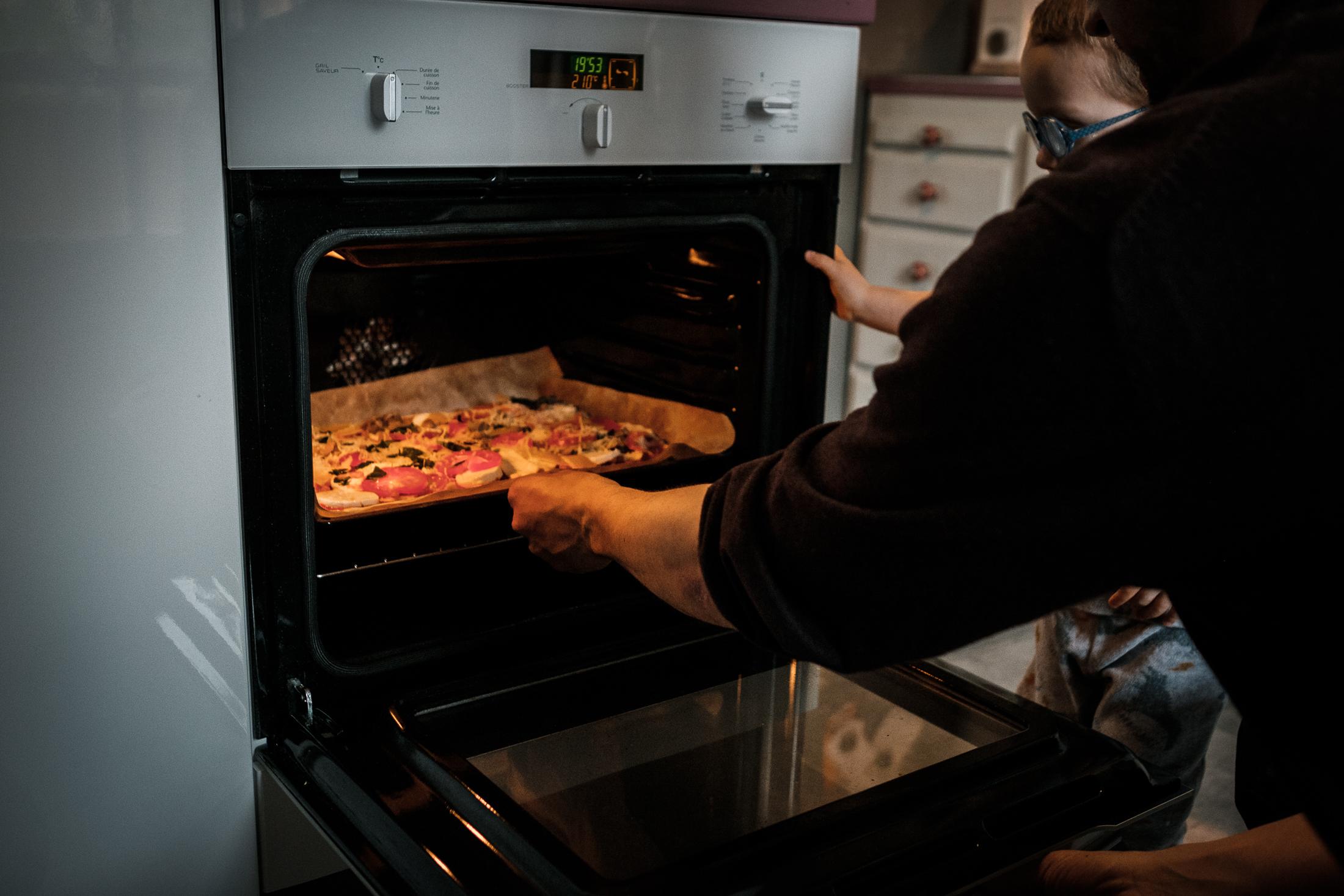 prestations photographe famille pizza au four