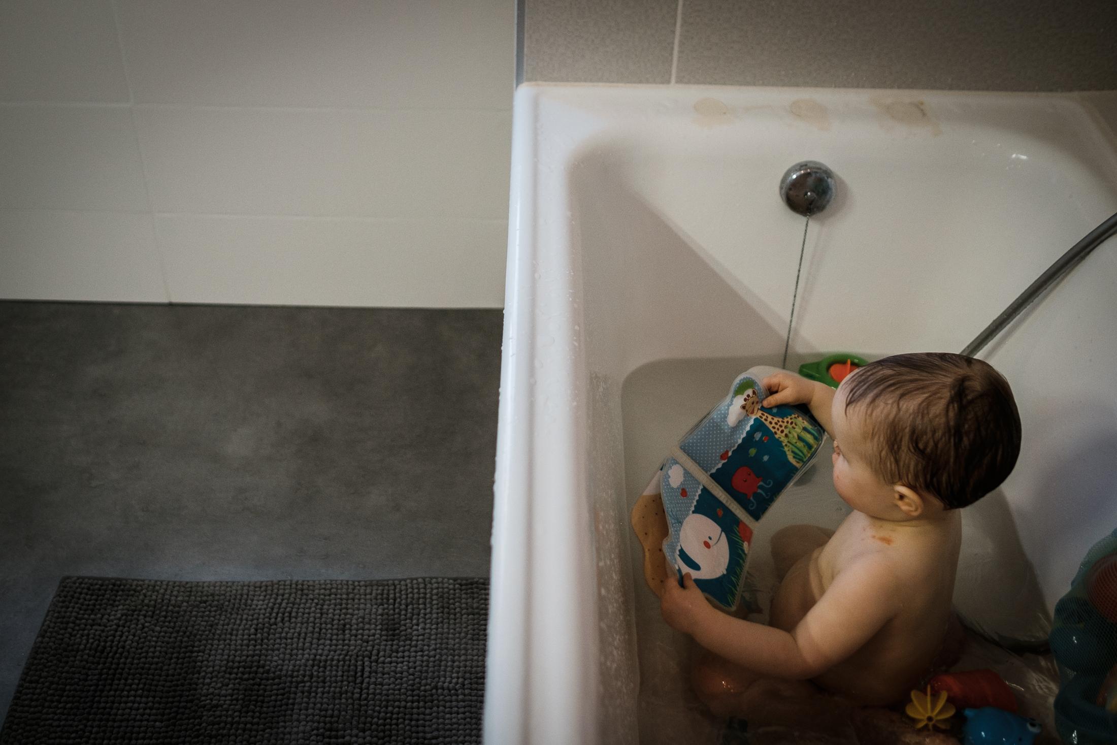 photographe famille vannes heure du bain