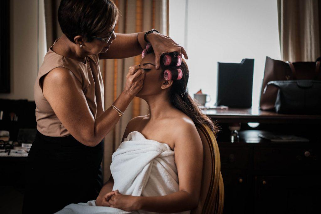 photographe mariage srilanka préparatifs mariée