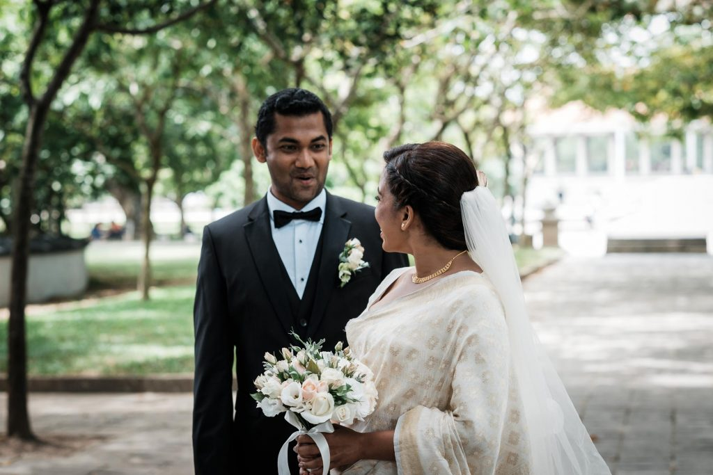 photographe mariage srilanka colombo wedding photographer first look groom reaction