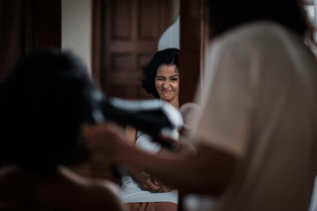 photographe mariage srilanka préparatifs bridesmaid