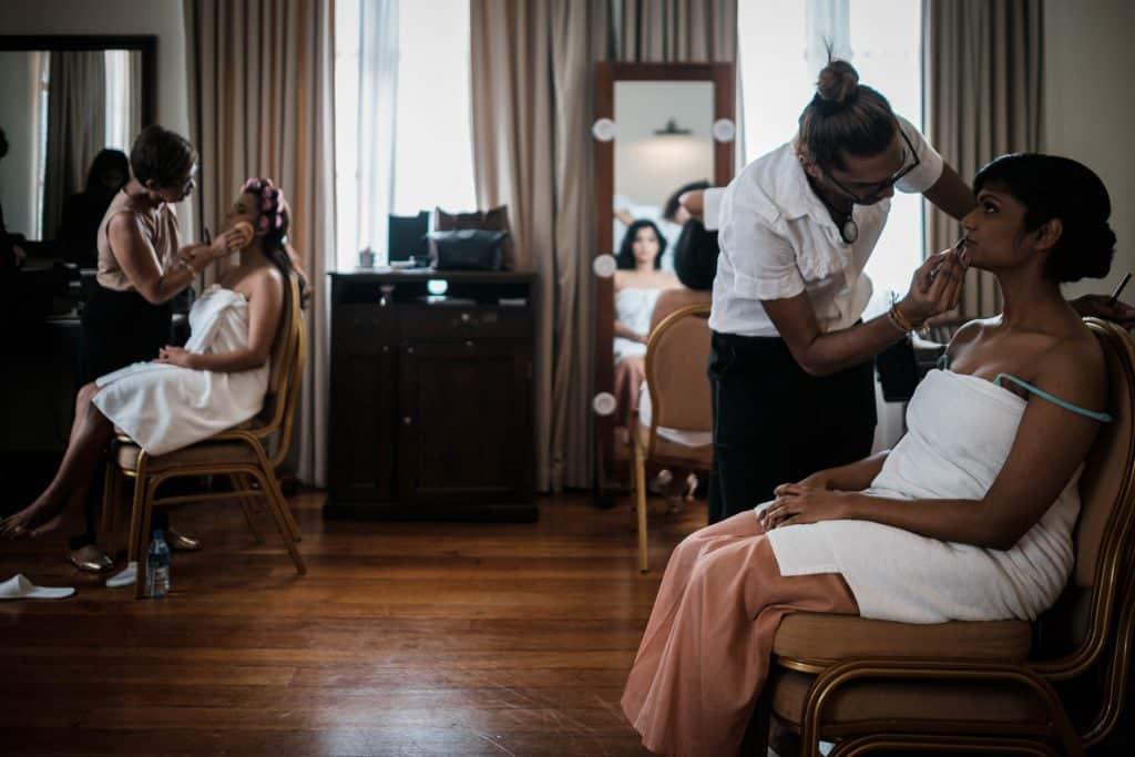 photographe mariage srilanka bride squad