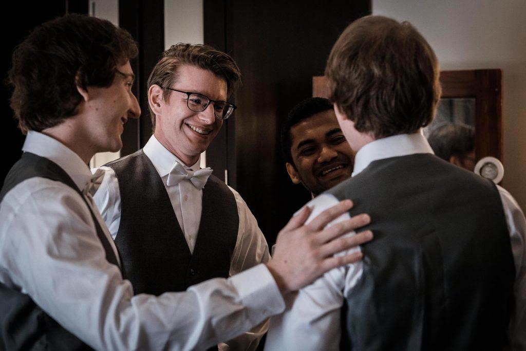photographe mariage srilanka groom squad