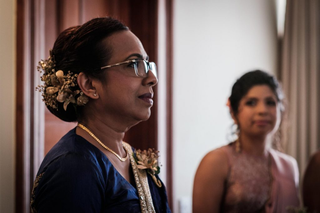 photographe mariage srilanka mom and daughter