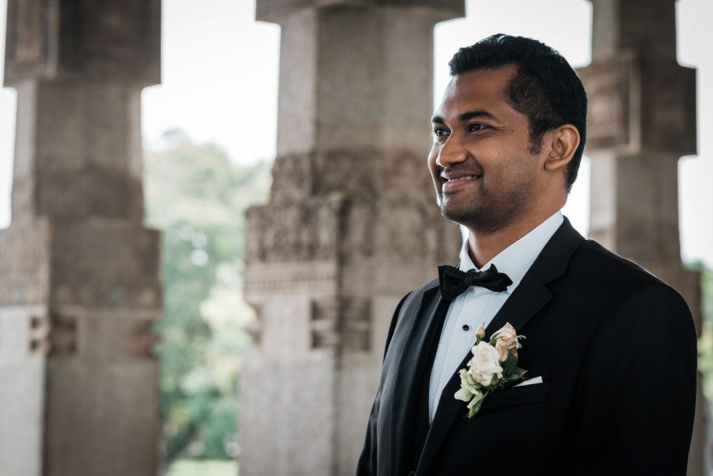 photographe mariage srilanka colombo wedding photographer groom awaiting