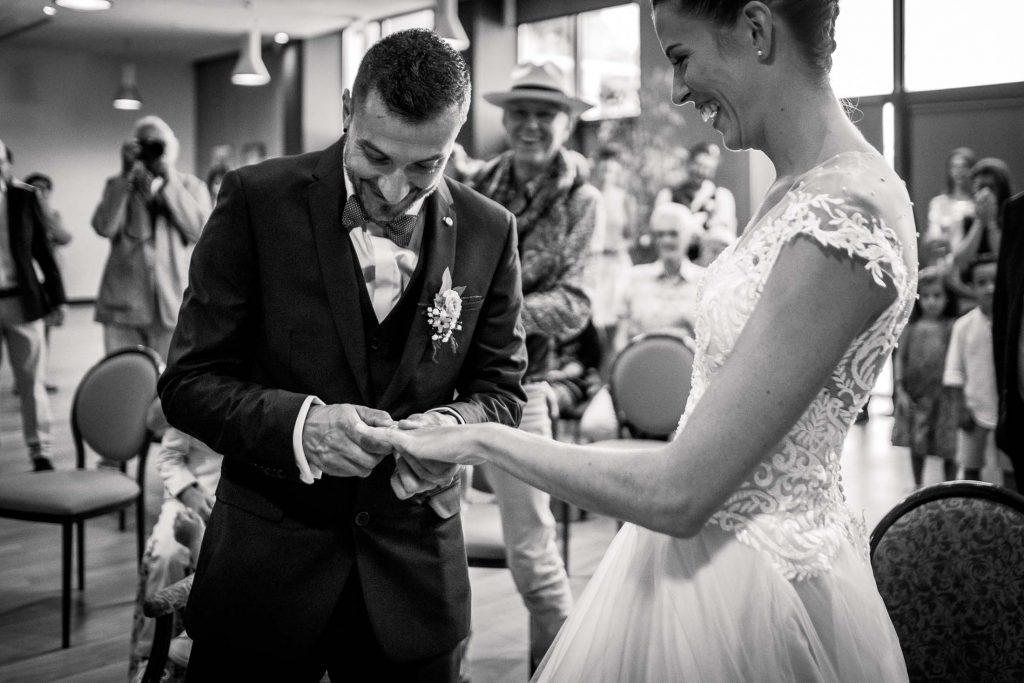 photographe mariage mairie bruguières alliance