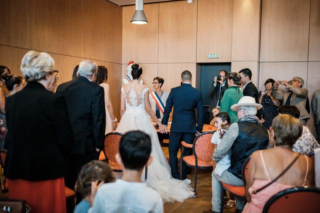 photographe mariage cérémonie civile bruguières