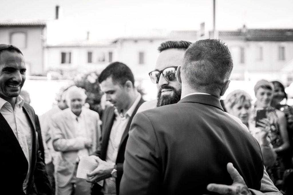 photographe mariage sortie de mairie