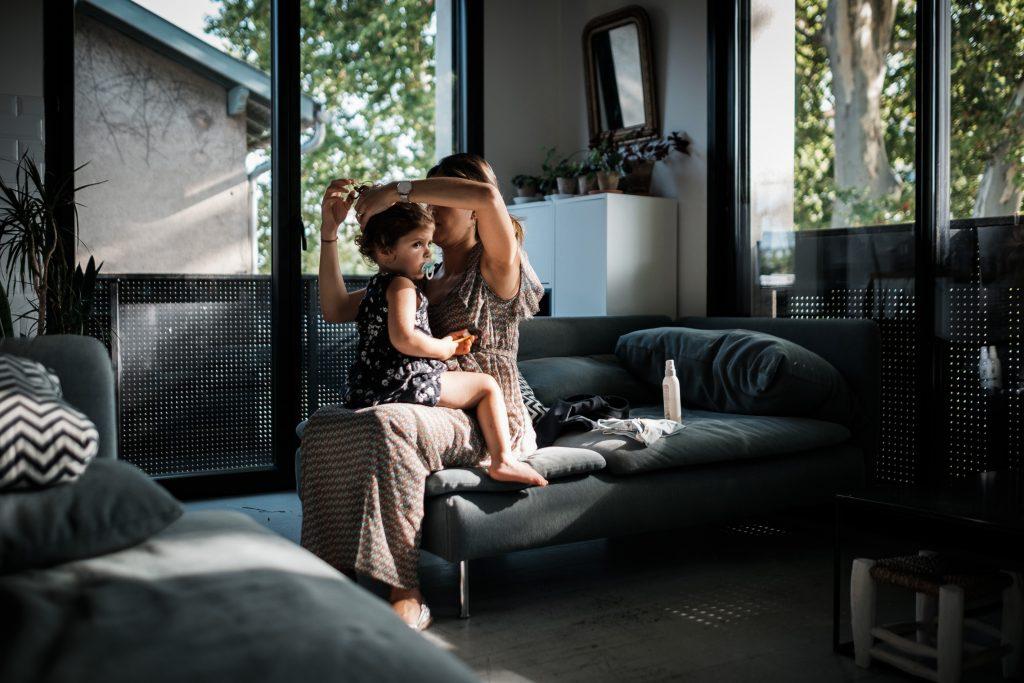 photographe famille toulouse mère et fille