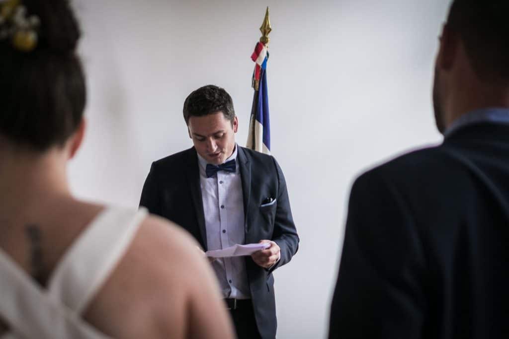 discours du témoin du marié