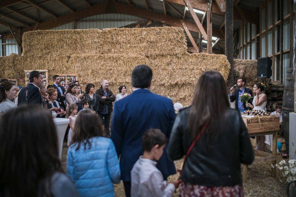 discours de bienvenue des mariés dans la ferme
