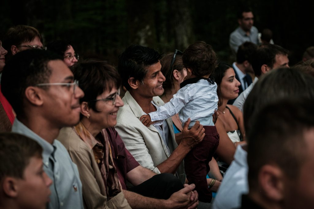 photographe mariage étangs de taysse cérémonie laïque invités
