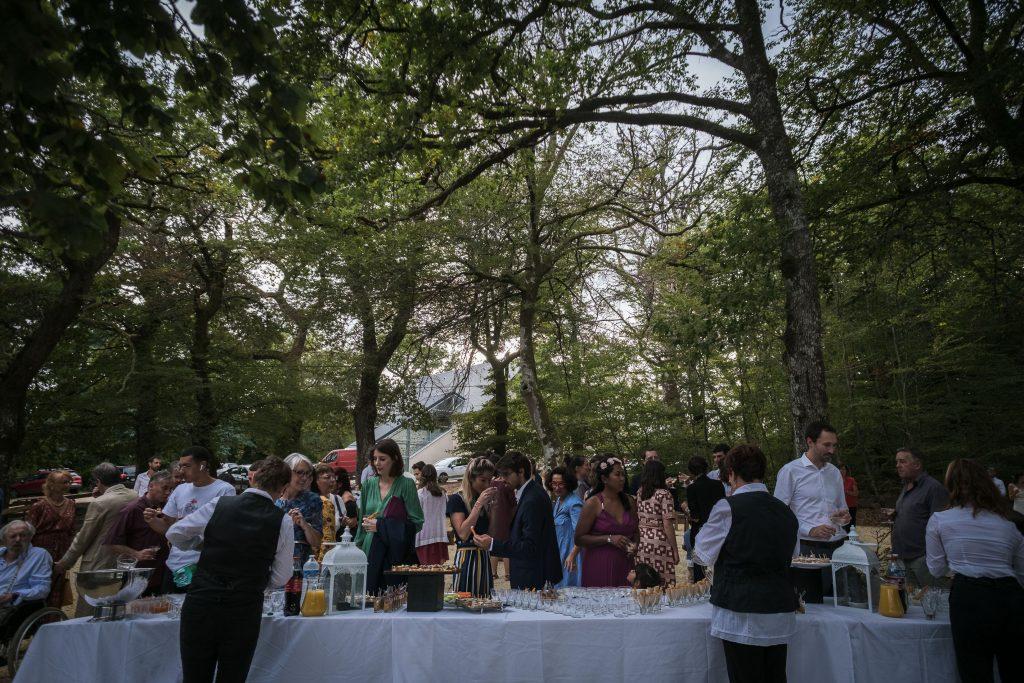 photographe mariage vin d'honneur étangs de taysse traiteur gubert