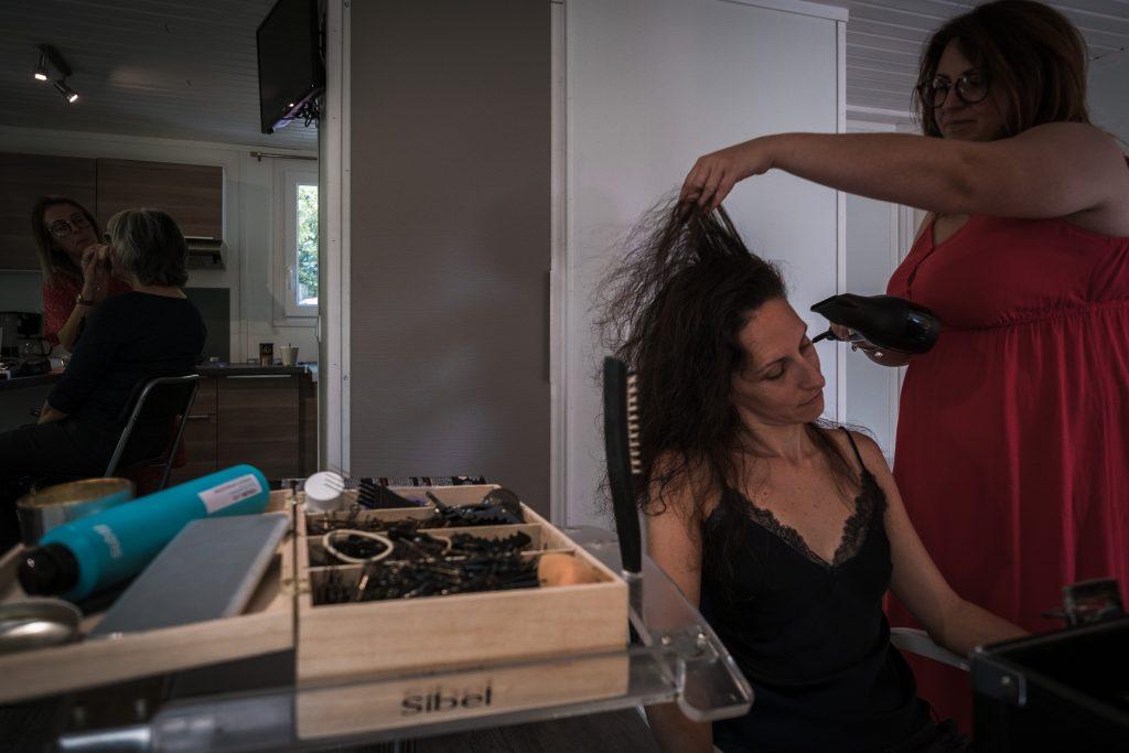 photographe mariage etangs de taysse préparatifs et mise en beauté de la mariée