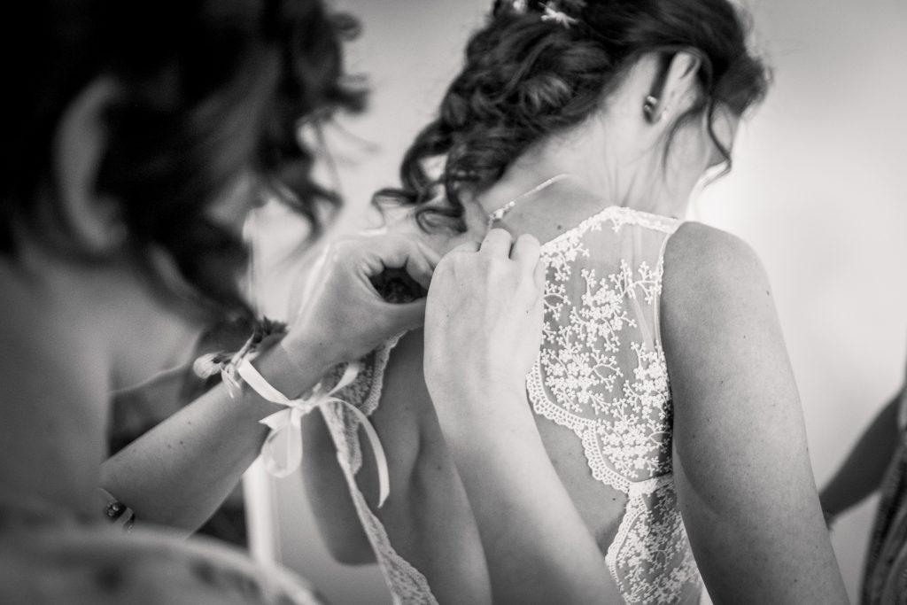 photographe mariage étangs de taysse robe de mariée sur-mesure mademoiselle madame
