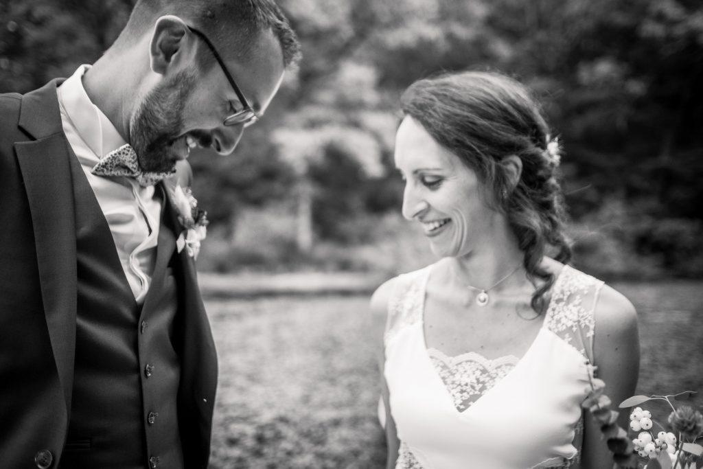 photographe mariage étangs de taysse first look