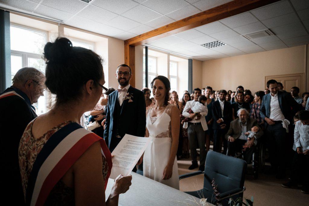 photographe mariage etangs de taysse cérémonie civile sarran corrèze