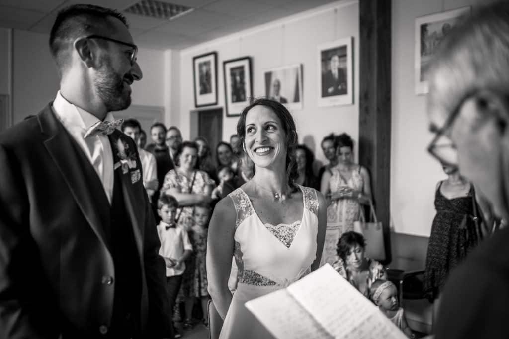 photographe mariage étangs de taysse corrèze cérémonie civile mairie de safran