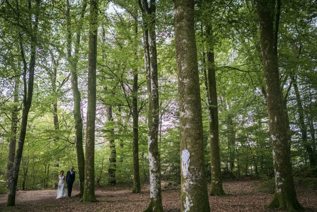Instant Galerie Marion Brochart photographe mariage et famille Mariage zéro déchet aux étangs de taysse en pleine verdure corrézienne