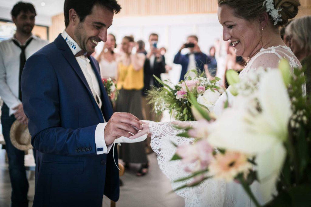 passage des alliances photographe mariage lot