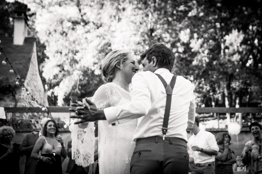 première danse improvisée photographe mariage lot