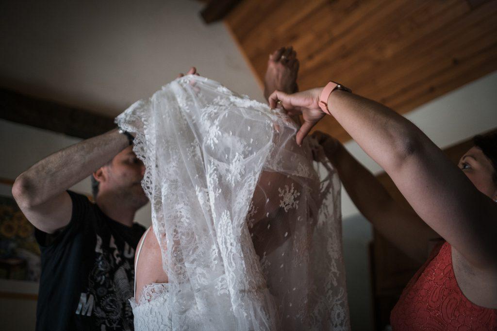 voile de la mariée photographe mariage lot